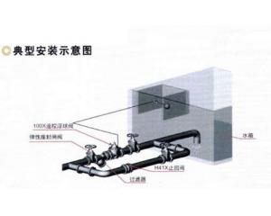 水箱水位控制阀典型安装