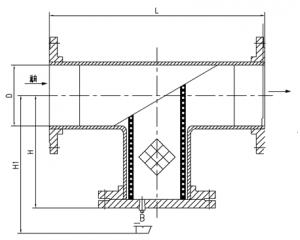 ST3型过滤器结构图
